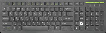 Клавиатура беспроводная Defender UltraMate SM-536 (45536)