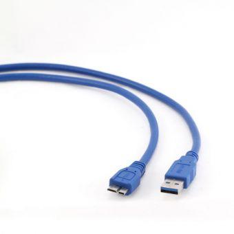 Кабель USB 3.0 Gembird MicroUSB 0.5m CCP-mUSB3-AMBM-0.5m