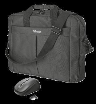 """Сумка для ноутбука 16"""" Trust Primo Carry Bag (мышь в подарок) 21685"""