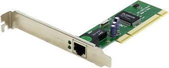 Сетевая карта D-LINK DFE-520TX, 10Base-T/100Base-TX Fast Ethernet NIC with RJ-45