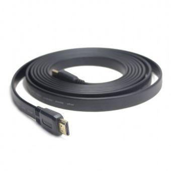 Кабель HDMI  3.0m GEMBIRD CC-HDMI4F-10 M-M v.1.4,плоский bulk packing