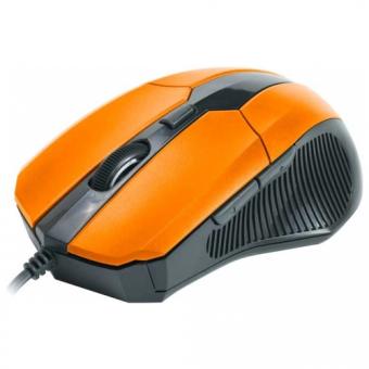 Мышь CBR CM-301 Orange, оптика, эргон, 2 доп.кл., программируемые кнопки, USB, CM 301 Orange