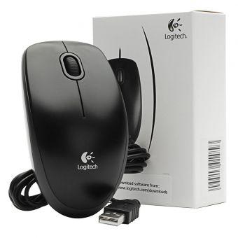 Мышь Logitech B100 Black USB