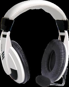 Наушники с микрофоном Defender Gryphon 750 white (2x3pin) 63747