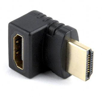 Переходник Gembird HDMI (F) - > HDMI (M) угловой (A-HDMI270-FML)