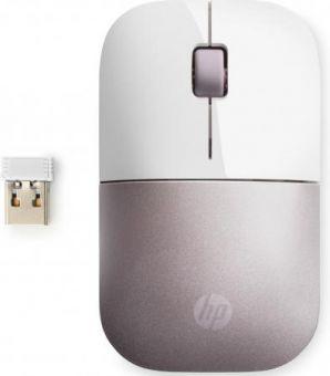 Мышь беспроводная HP Z3700 white/pink (4VY82AA)