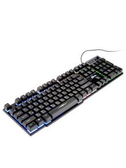 Клавиатура с подсветкой Ritmix RKB-200BL