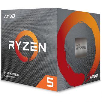 Процессор AMD Ryzen 5 3600X (3,8 - 4,4 ГГц, 6C/12T, 95W, AM4, BOX) 100-100000022BOX