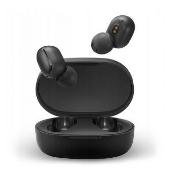 Наушники беспроводные Xiaomi Mi True Earbuds Basic S black (TWSEJ05LS)