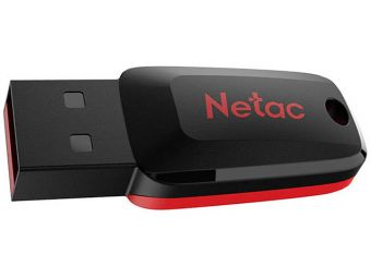 Накопитель USB2.0 Flash 16Гб Netac U197 (NT03U197N-016G-20BK)
