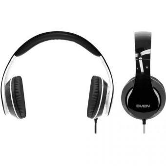 Наушники c микрофоном SVEN AP-940MV black/white