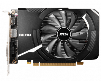 Видеокарта MSI GeForce GTX 1650 4Гб GDDR6 (GTX 1650 D6 AERO ITX OC)