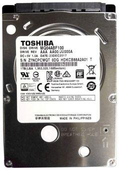 """Жесткий диск 2.5"""" Toshiba 1Tb MQ04ABF100"""