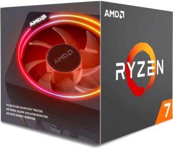 Процессор AMD Ryzen 7 2700X (8C/16T, 3,7-4,3 ГГц, 105W, AM4, BOX) YD270XBGAFBOX