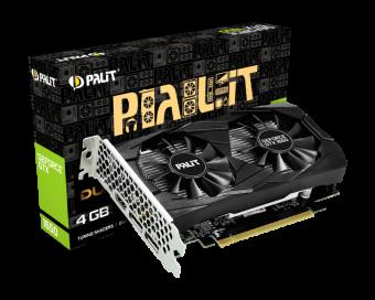 Видеокарта Palit GeForce GTX 1650 Dual 4Гб GDDR5 (NE5165001BG1-1171D)
