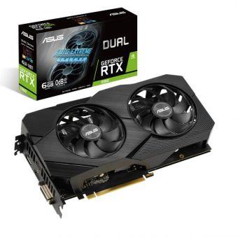 Видеокарта ASUS GeForce RTX 2060 DUAL EVO 6Gb GDDR6 (DUAL-RTX2060-6G-EVO)