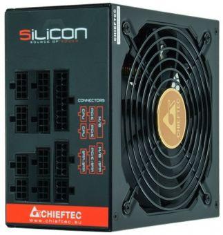 Блок питания 1000Вт модульный Chieftec Silicon SLC-1000C 80+ Bronze