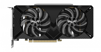 Видеокарта Palit GeForce RTX 2060 SUPER DUAL 8Гб GDDR6 (NE6206S018P2-1160A)