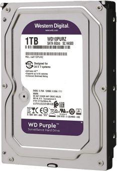 Жёсткий диск 1Тб WD PURPLE (WD10PURZ -85U8XY0)