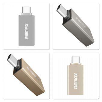 USB переходник REMAX RA-USB1 Micro USB на USB Type-C