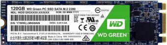 Твердотельный накопитель SSD M.2 120Гб WD Green (WDS120G2G0B)
