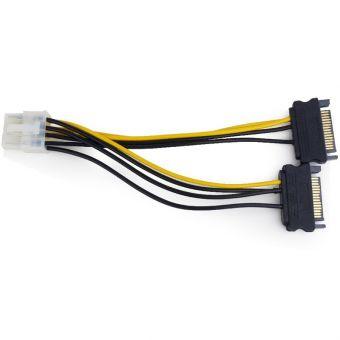 Кабель питания для видеокарт PCI-Express to 2*PCI-Express (6+2pin)