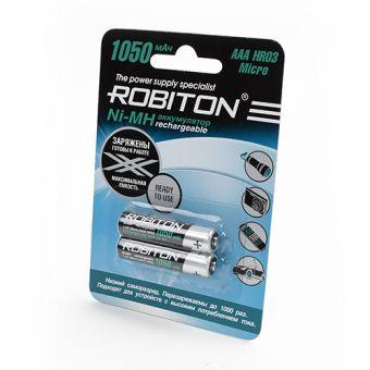 Аккумуляторы ROBITON AAA 1050 mAh BL2