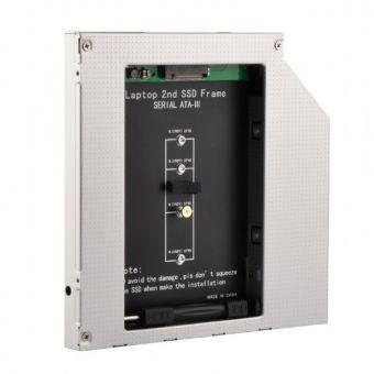 Адаптер optibay Gembird 9,5 мм для SSD M.2 A-SATA95M2-01