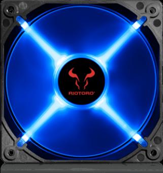 Вентилятор 120 мм RIOTORO CROSS-X CLASSIC FB120 Blue LED (RTF-120SP-BLED)