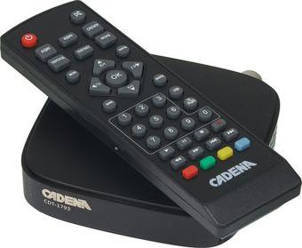 Пиёмник цифровой эфирный DVB-T2 CADENA CDT-1793