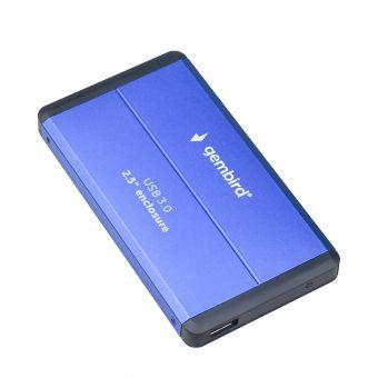 "Мобильное шасси Gembird 2.5"" USB 3.0 EE2-U3S-2-B Blue"
