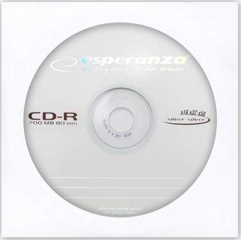Диск CD-R ESPERANZA TITANUM (700Мб, 52X, конверт)