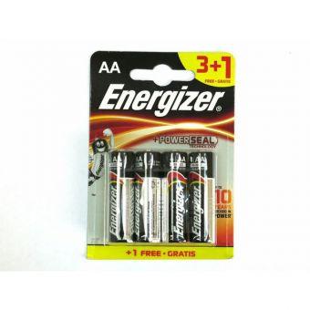 Батарейки Energizer MAX E91/AA 3+1 E300247800
