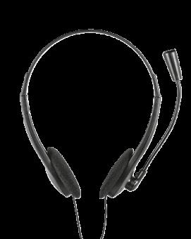 Наушники с микрофоном TRUST Primo HS-2100 (2x3pin) 11916