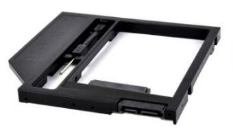 Адаптер оптибей HDD вместо DVD SATA 9.5мм