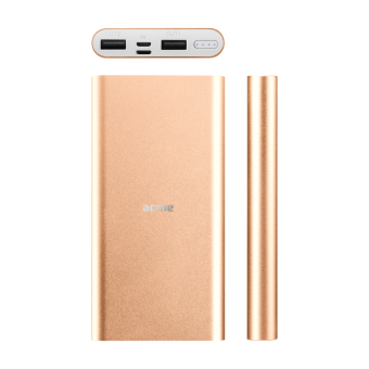 Портативная батарея Acme PB15GD 10000мАч Gold 2xUSB