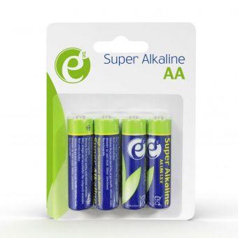 Батарейки Energenie AA Alkaline EG-BA-AA4-01 LR6