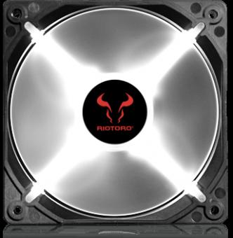 Вентилятор 120 мм RIOTORO CROSS-X CLASSIC FW120 White LED (RTF-120SP-WLED)