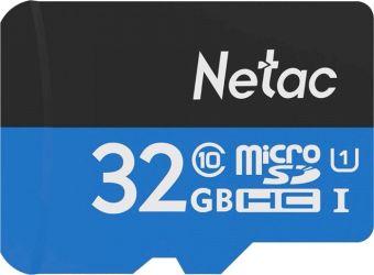 Карта памяти microSDHC 32Гб Netac P500 class10 (NT02P500STN-032G-S)