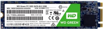 Твердотельный накопитель SSD M.2 480Гб WD Green (WDS480G2G0B)