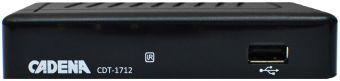 Приемник цифровой эфирный DVB-T2 Cadena CDT-1712
