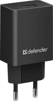 Сетевое зарядное устройство Defender EPA-10 (1xUSB, 5V/2,1A) 83572
