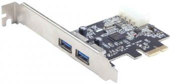 Контроллер PCIe -> 2xUSB3.0 Gembird (UPC-30-2P)