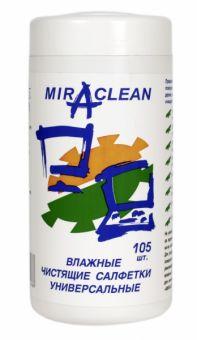 Чистящие салфетки универсальные Miraclean 105 шт