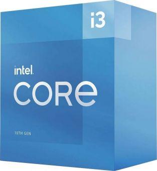Процессор Intel Core i3-10105 (4С/8T, 3,7-4,4ГГц, LGA1200, UHD630, 65Вт, BOX) BX8070110105