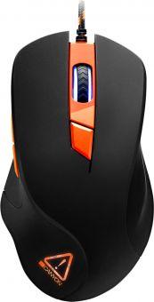 Мышь игровая CANYON Eclector CND-SGM03RGB (800-3200 DPI, макросы, RGB)