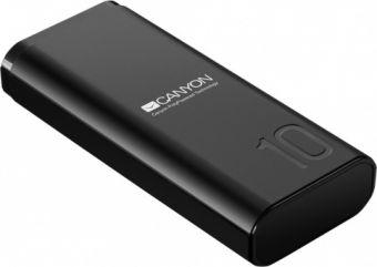 Портативный аккумулятор CANYON Power bank 10000mAh (CNE-CPB010B)