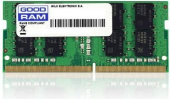 Оперативная память DDR4 SODIMM 4Gb 2400MHz GOODRAM GR2400S464L17S/4G